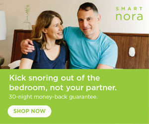 Smart nora snoring pillow