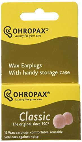 ohropax wax earplugs